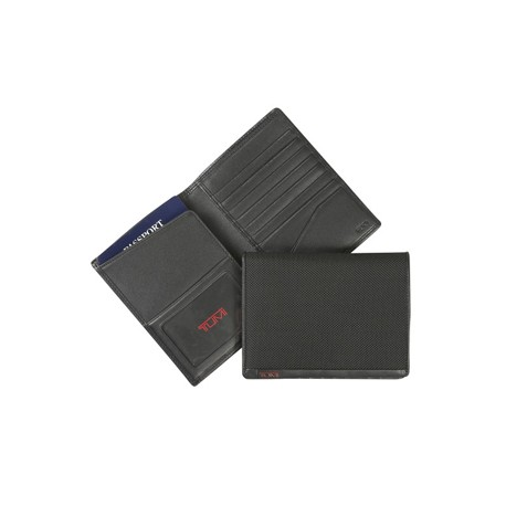 ALPHA Passport Case #19271 Black