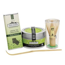 Taste of Kyoto Organic Green Tea Matcha Gift Set