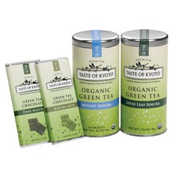 Taste of Kyoto Organic Green Tea Assortment Gift Set