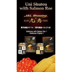 Original Uni Shutou & Uni Shutou with Salmon Roe