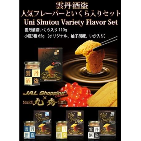 Uni Shutou Variety Flavor Set (4 bottles)