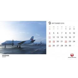 JAL Fleet 5 Desktop Calendar Set