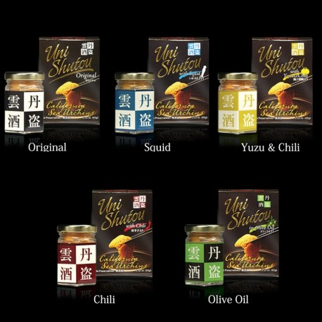 Uni Shutou Variety 5 Flavor Set (65g x 5)