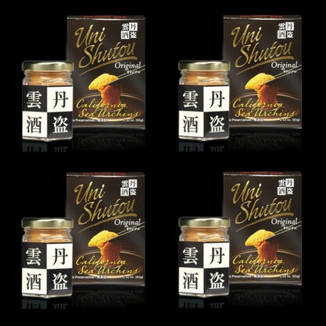 Uni Shutou Original 65g x 4 bottles
