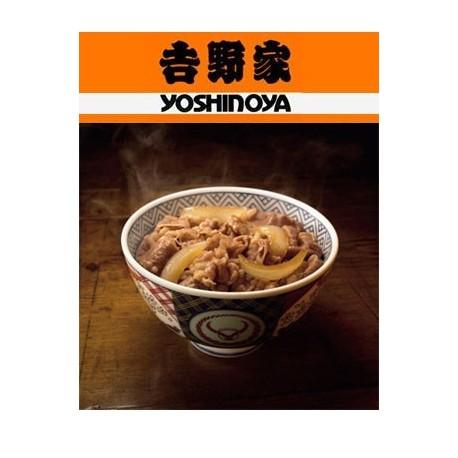 YOSHINOYA Beef with Sauce (No Rice) 12 packs - JAL ...