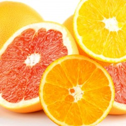 Ruby Grapefruits 9pcs & Navel Orange 10pcs