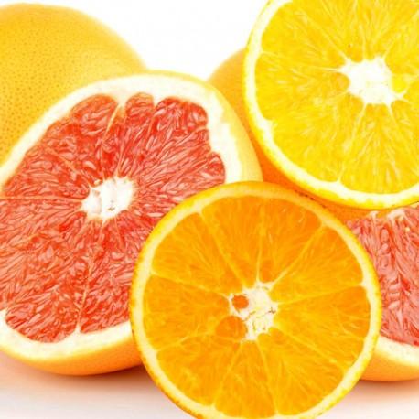 Ruby Grapefruits 9pcs & Navel Orange 10pcs