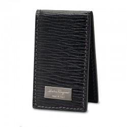Ferragamo - Mens - Revival Magnetic Money Clip (Black 350190)