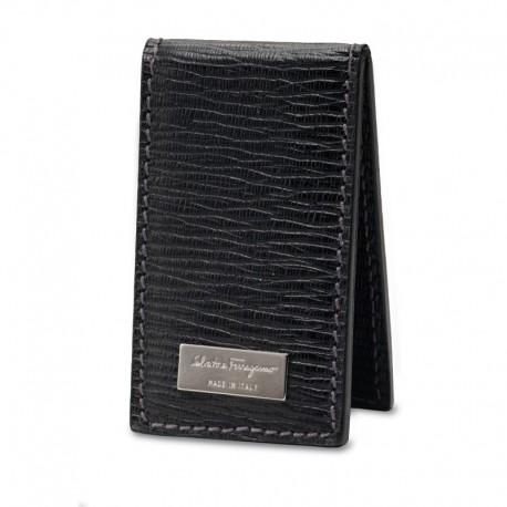 Ferragamo - Mens - Revival Magnetic Money Clip (Black 350190)