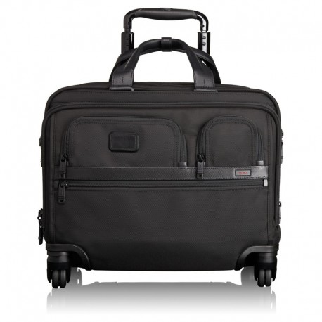 ALPHA2 4 Wheeled Deluxe Brief With Laptop Case (26627D2)
