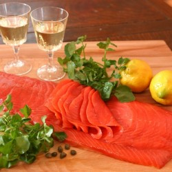 Smoked Sockeye Salmon (Side Sliced) 700~800g