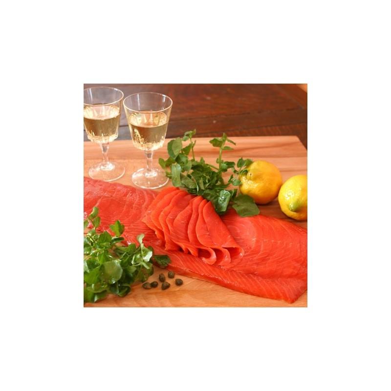 Smoked Sockeye Salmon (Sliced) 700~800g - JAL Shopping Americas