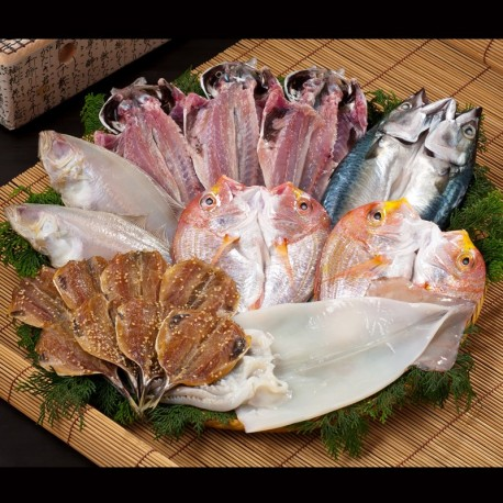 Dried Fish & Seafood Set