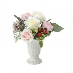 Photocatalyst Pastel Rose & Mini Fruits Arrangement