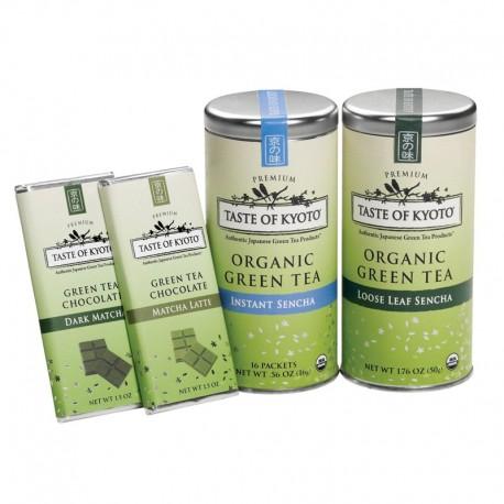 Taste of Kyoto Organic Green Tea Assortment Gift Set