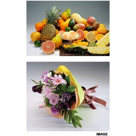 Fruits Variety Set C & Mini Flower