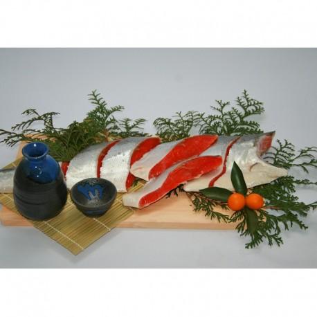 紅塩鮭・切り身半身姿(頭無し)