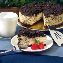 DAVID'S COOKIES Cookies & Cream Cheesecake