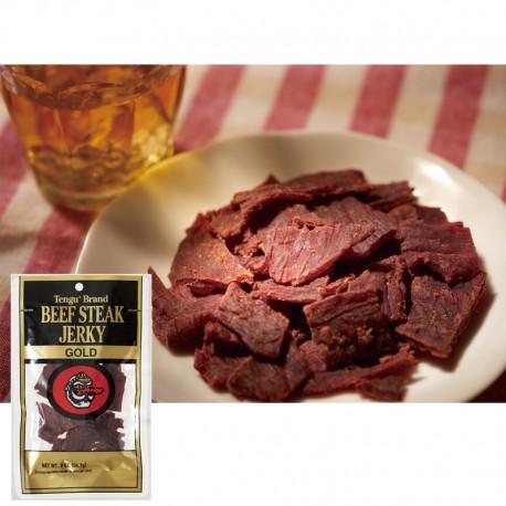 TENGU Beef Steak Jerky Gold (12 bags)