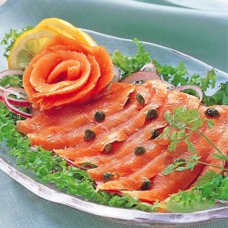 Smoked King Salmon Sliced 600g
