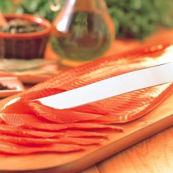 Smoked King Salmon Sliced 1kg