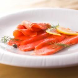 カナダ産 紅鮭スモークサーモン 50g x 5
