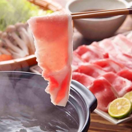 Kagoshima Black Pork For Shabu Shabu