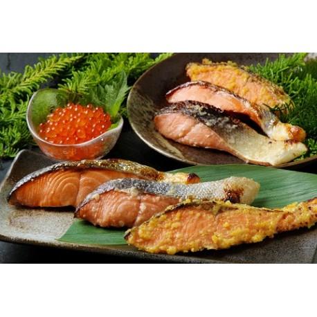 FUJII SUISAN Salmon & Salmon Roe Set