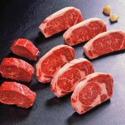 アンガス牛ステーキ3種 各3