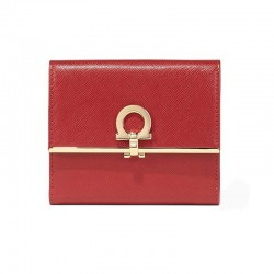 Ferragamo - Womens - French Wallet (Rosso 549421)