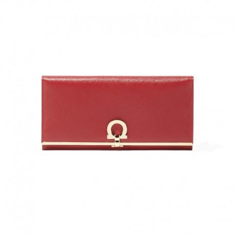 Ferragamo - Womens - Continental Wallet (Rosso 549413)