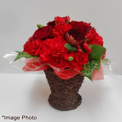Red Flower Arrangement (Mothers Day)