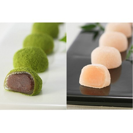 MATCHA MOCHI 12pc & HAKUTO MOCHI 8pc Set