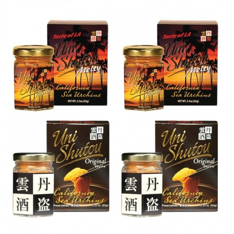 Uni Shutou Melty Set (4 bottles)