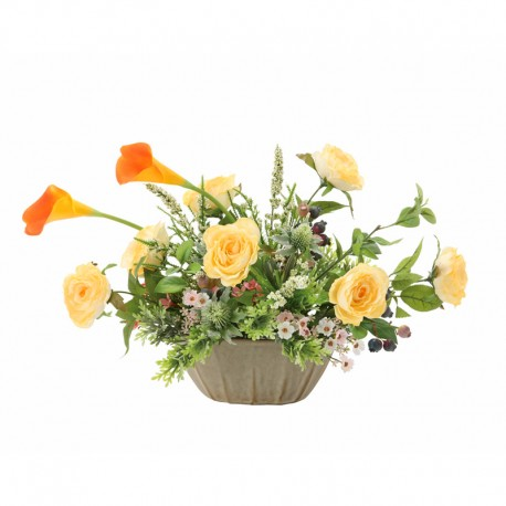 Photocatalyst Orange Calla Arrangement