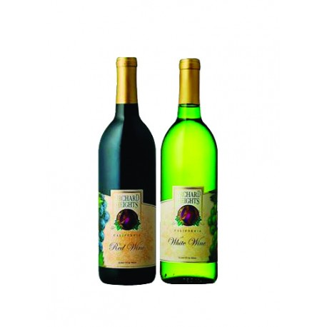 Orchard Heights Red & White Wine Set