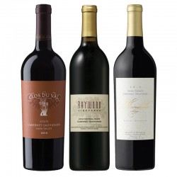 California Red Wine 3 Bottle Set
