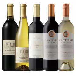 California Red & White Wine 6 Bottle Set