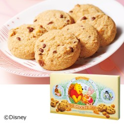 WINNIE THE POOH Macadamia Nuts Chocolate Chip Cookie 2 Box Set