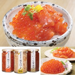 Salmon & Salmon Roe Set