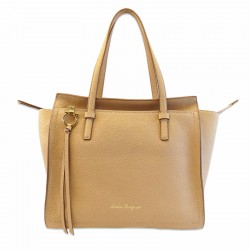 Ferragamo - Womens - Medium Tote Amy (New Bisque 612620)