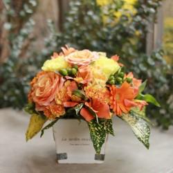 Orange Flower Arrangement (Mothers Day)