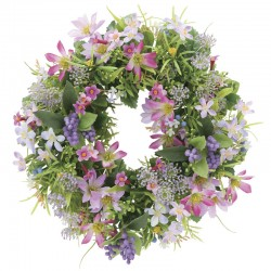 Photocatalyst Mixed Pastel Color Wreath