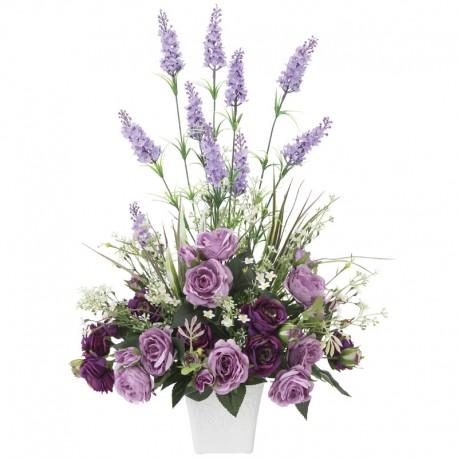 Photocatalyst Lavender Color Arrangement