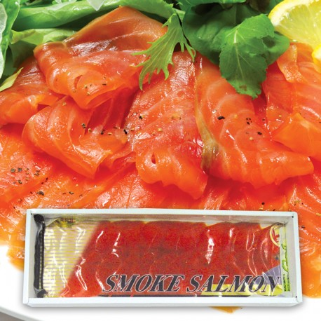 Sockeye Smoked Salmon Sliced