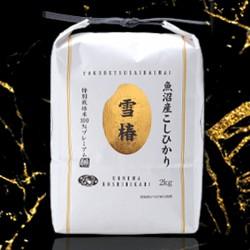 最高級・魚沼産コシヒカリ「雪椿」2kg