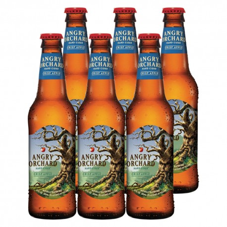 Angry Orchard Hard Cider 6 Bottles