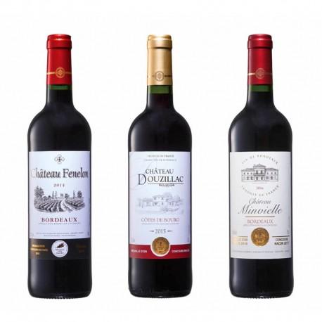 France Bordeaux Gold Award Wine Set