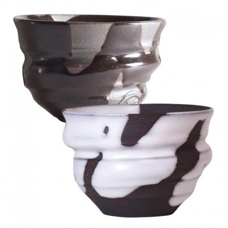 ROYAL KYOTO Black & White Free Cup Set