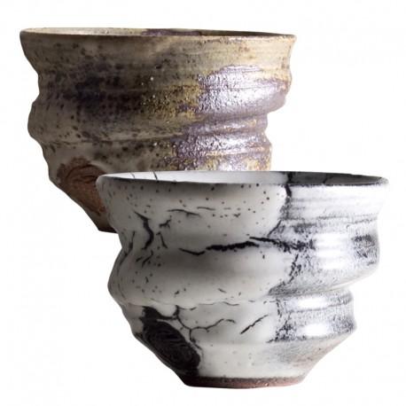 ROYAL KYOTO Gray & Brown Free Cup Set